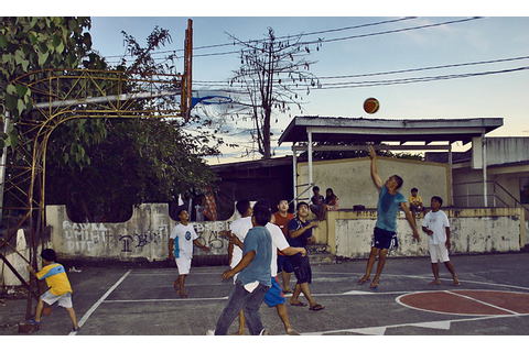 street basketball | What a shot!!! Photo taken during a ...