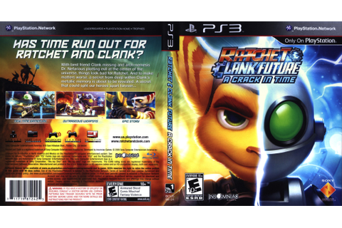 BCUS98124 - Ratchet & Clank: Future - A Crack in Time