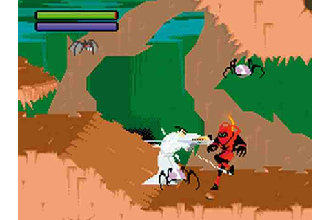 Fotos de Samurai Jack: The Amulet of Time para gameboy ...