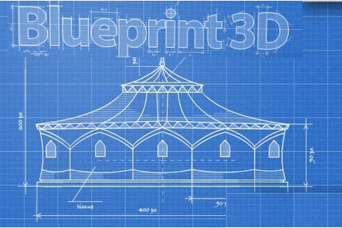 Blueprint 3D walkthrough
