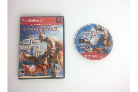 God of War game for Playstation 2 | The Game Guy