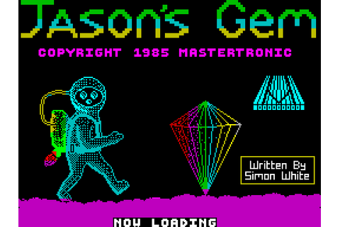 Jason's Gem (1985) by Mastertronic ZX Spectrum game
