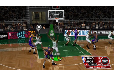 NBA '09 The Inside - Sony PSP Countdown
