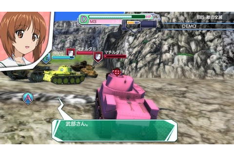 Girls Und Panzer Review - Tank You Very Much (Vita Import ...