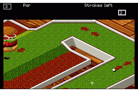 Zany Golf (1988) by Sandcastle Amiga game