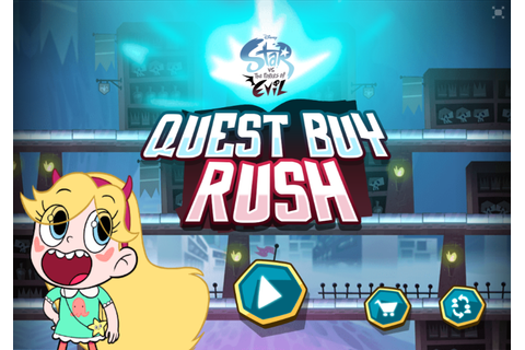 Image - Quest Buy Rush title screen.png | Star vs. the ...