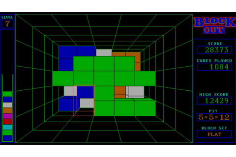 Blockout (1989) [PC] [MS-DOS] - YouTube