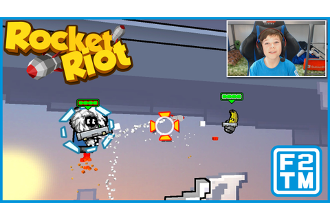 SUPER FUN AND SUPER STRESSFUL GAME LOL - Rocket Riot ...