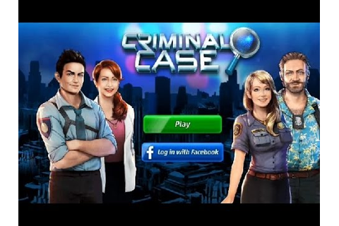 Criminal Case Android Game - YouTube