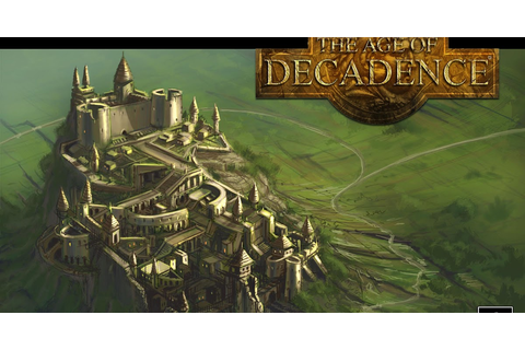 The Age of Decadence - PC Review | Chalgyr's Game Room