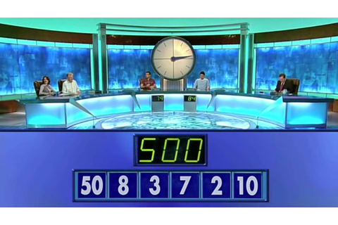 Countdown Blooper - The Easiest Numbers Game Ever? (7) [HD ...