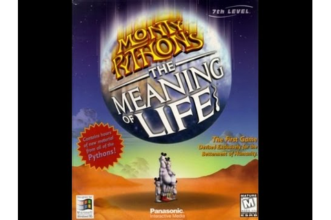 Monty Python's The Meaning of Life (Adventure game) - YouTube