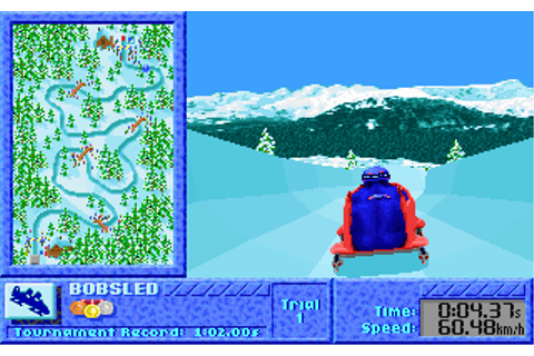 The Games: Winter Challenge | Old DOS Games | Download for ...