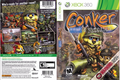 Conker: Live & Reloaded - Convertido Para 360 - Lt 3.0 - R ...