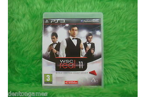 ps3 WSC Real 11 World Snooker Championship Game ...