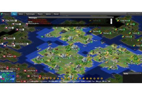 Indie Retro News: Freeciv - Open-Source Inspired ...