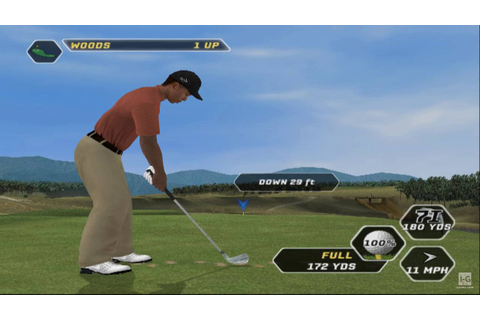 Tiger Woods PGA Tour 08 PS2 Gameplay HD - YouTube