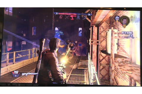 R.I.P.D. The Game - Offscreen Co-op Gameplay - E3 2013 ...