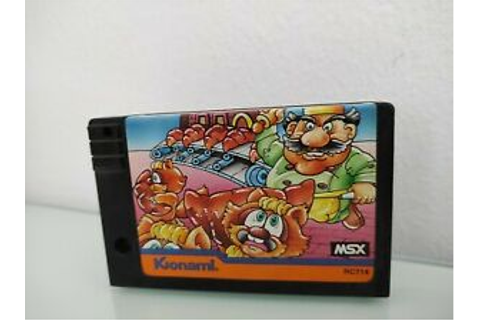 Juego Game Comic Bakery Msx | eBay