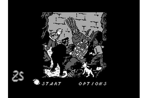 Tintin: Le Temple Du Soleil (Game Boy) - speedrun - YouTube