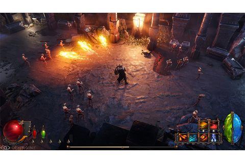 Wolcen: Lords of Mayhem is a Freeform Isometric Action RPG