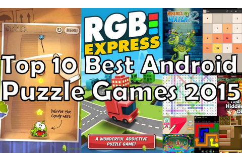 Top 10 Best Android Puzzle Games 2015 - Free