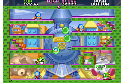 Bubble Symphony (1997) by Taito Saturn game