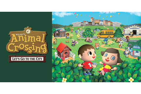 Animal Crossing: Let's Go to the City | Wii | Games | Nintendo