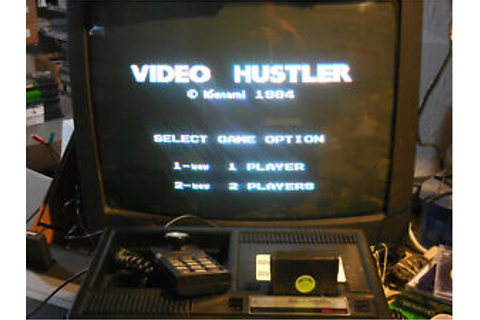 ColecoVision VIDEO HUSTLER (Authentic) Prototype Test Game ...