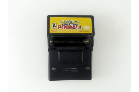 Pokemon Pinball game for GameBoy Color (Loose) | The Game Guy