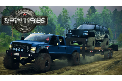 Spin Tires Singleplayer - Episode 1 - Mods! - YouTube