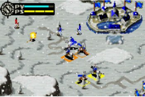 L'Aigle de Guerre Game Boy Advance Screenshots, capture d ...