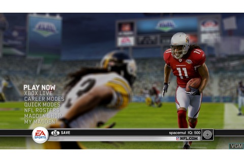 Madden NFL 10 for Microsoft Xbox 360 - The Video Games Museum