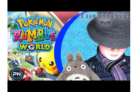 I'm Game - Pokémon Rumble World REVIEW!!! - Raymondotron ...