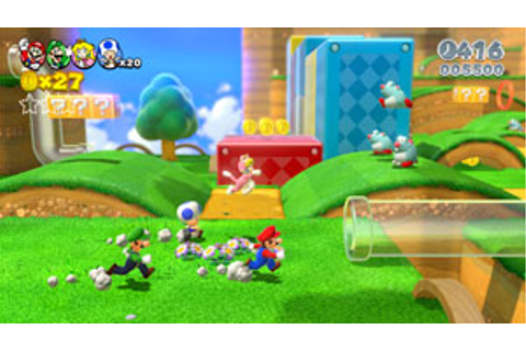 Super Mario 3D World (Nintendo Wii U): Amazon.co.uk: PC ...