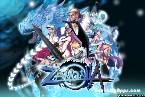 Games for android and java: Zenonia 1