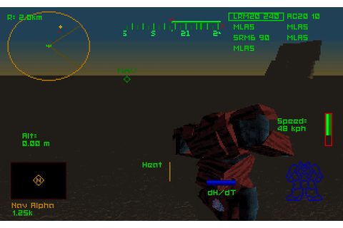 Mechwarrior 2: Mercenaries vehicle simulation for DOS ...