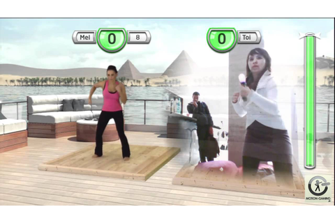 get fit with mel b PS3 - YouTube