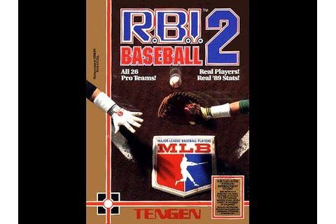 R.B.I. Baseball 2 (Nintendo Entertainment System) - YouTube