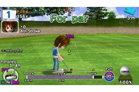 Everybody's Golf 2 for Sony PSP - The Video Games Museum
