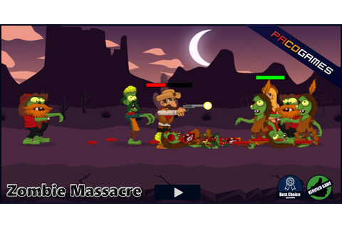Zombie Massacre | Play the Game for Free on PacoGames