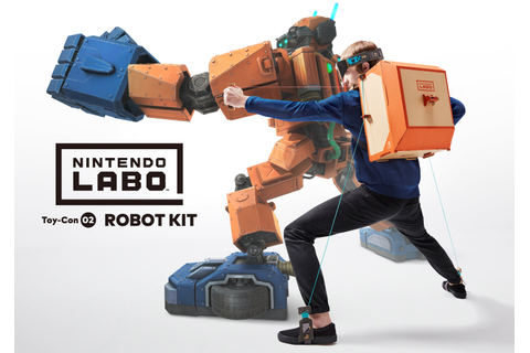 That Nintendo Labo Robot Game Looks Awfully Familiar ...