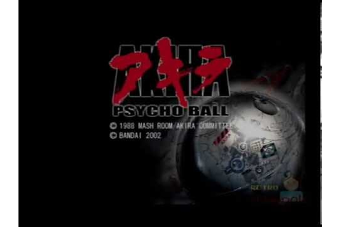 Akira Psycho Ball PS2 Multiplayer Gameplay (Infogrames ...