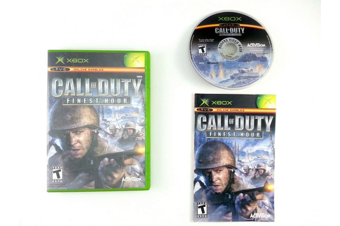Call of Duty Finest Hour game for Xbox (Complete) | The ...