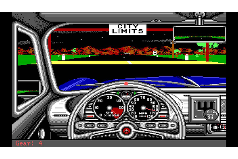 Street Rod (PC/DOS) Longplay, 1989, California Dreams ...