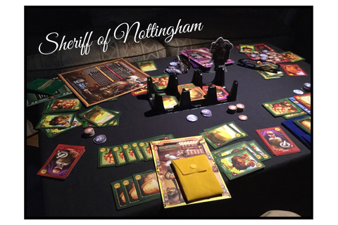 Gaming from the cupboard: Sheriff of Nottingham