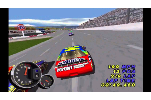 NASCAR 99 (PS1) - YouTube