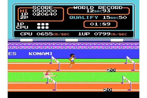 Phoenix Games: Track and Field - NES
