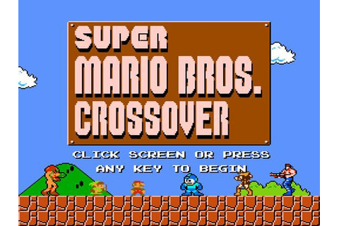 Super Mario Bros Crossover Free Download PC Game – isoroms.com