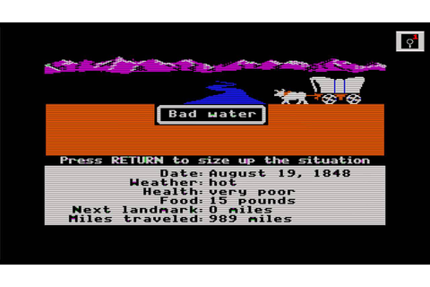 The Oregon Trail 3 Gameplay and Commentary - YouTube
